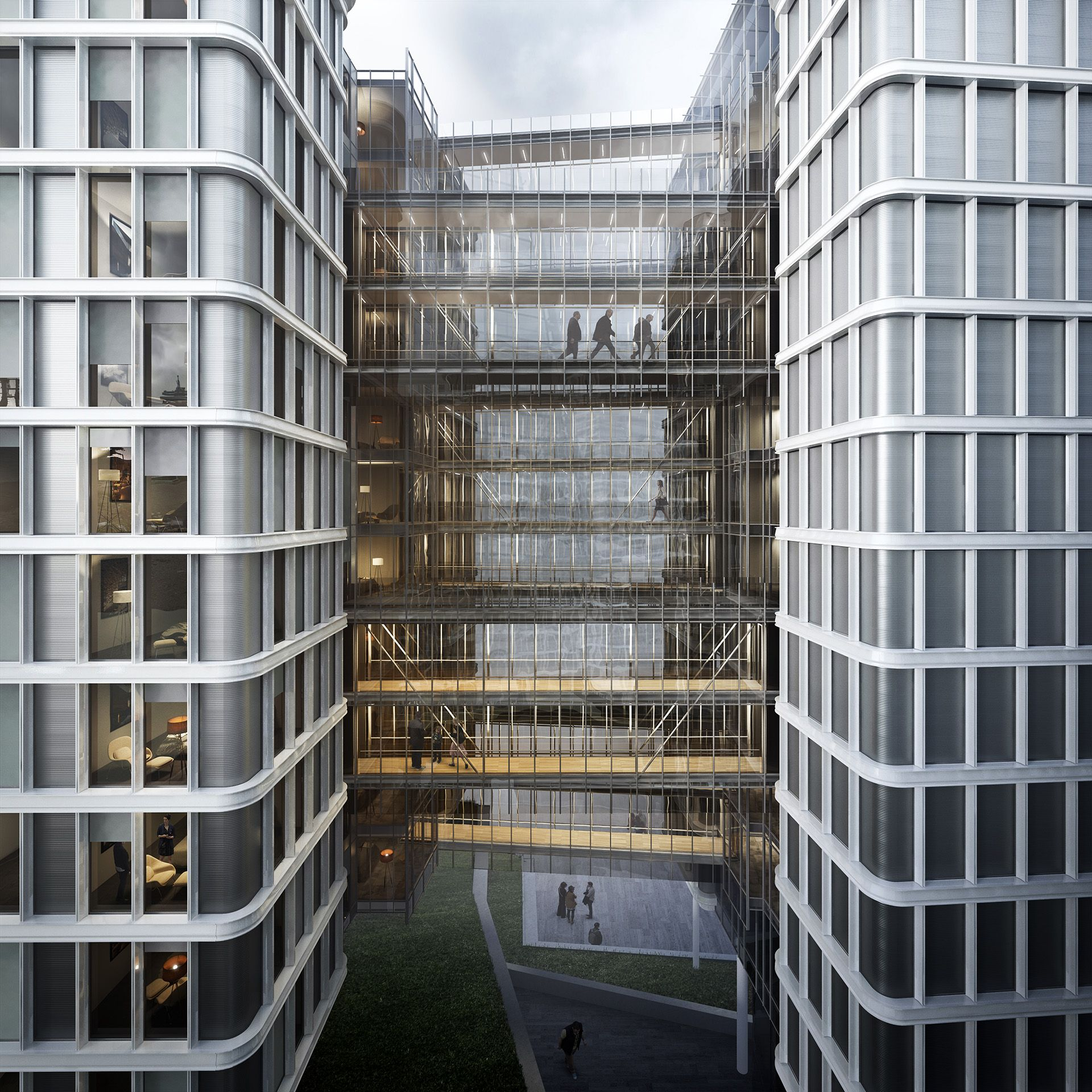Vienna Park Apartments: Mixed-use Development In Vienna / Renzo Piano Building