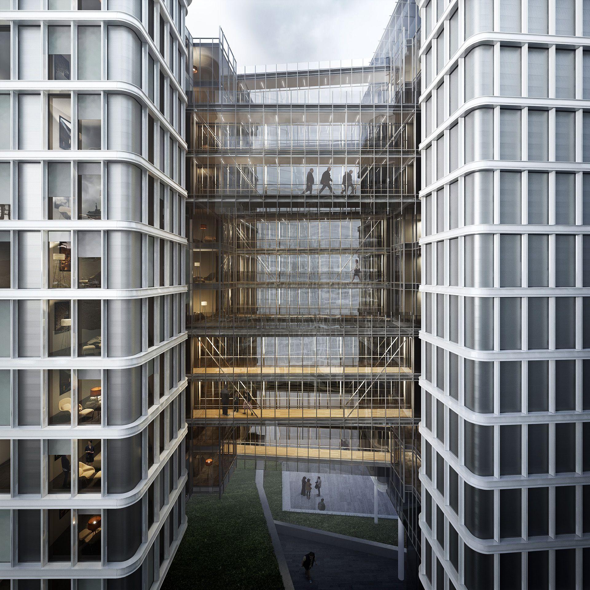 Vienna Park Apartments: Mixed-use Development In Vienna / Renzo Piano Building