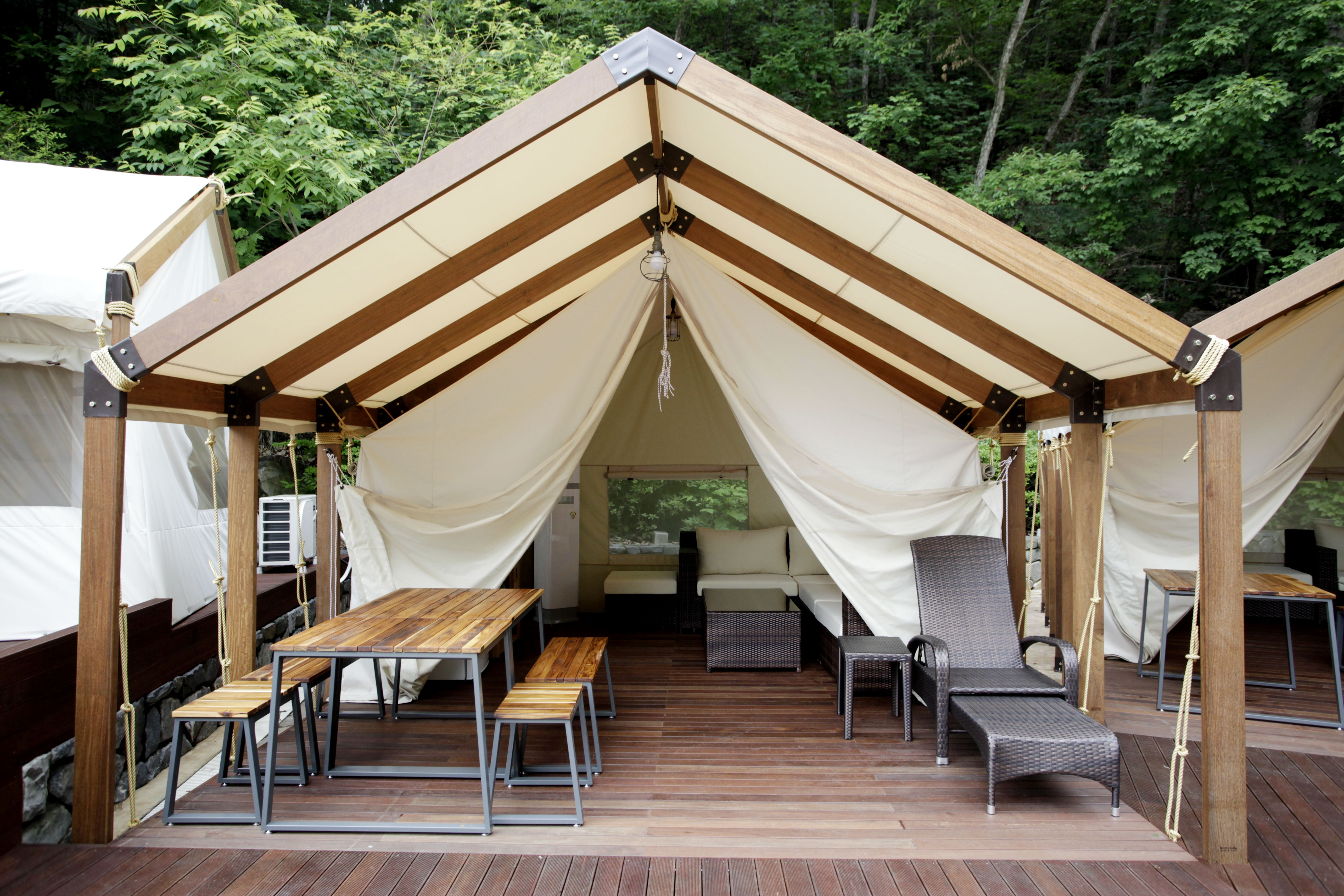 Ocean World Glamping Tent Camping Carpas Aire Libre