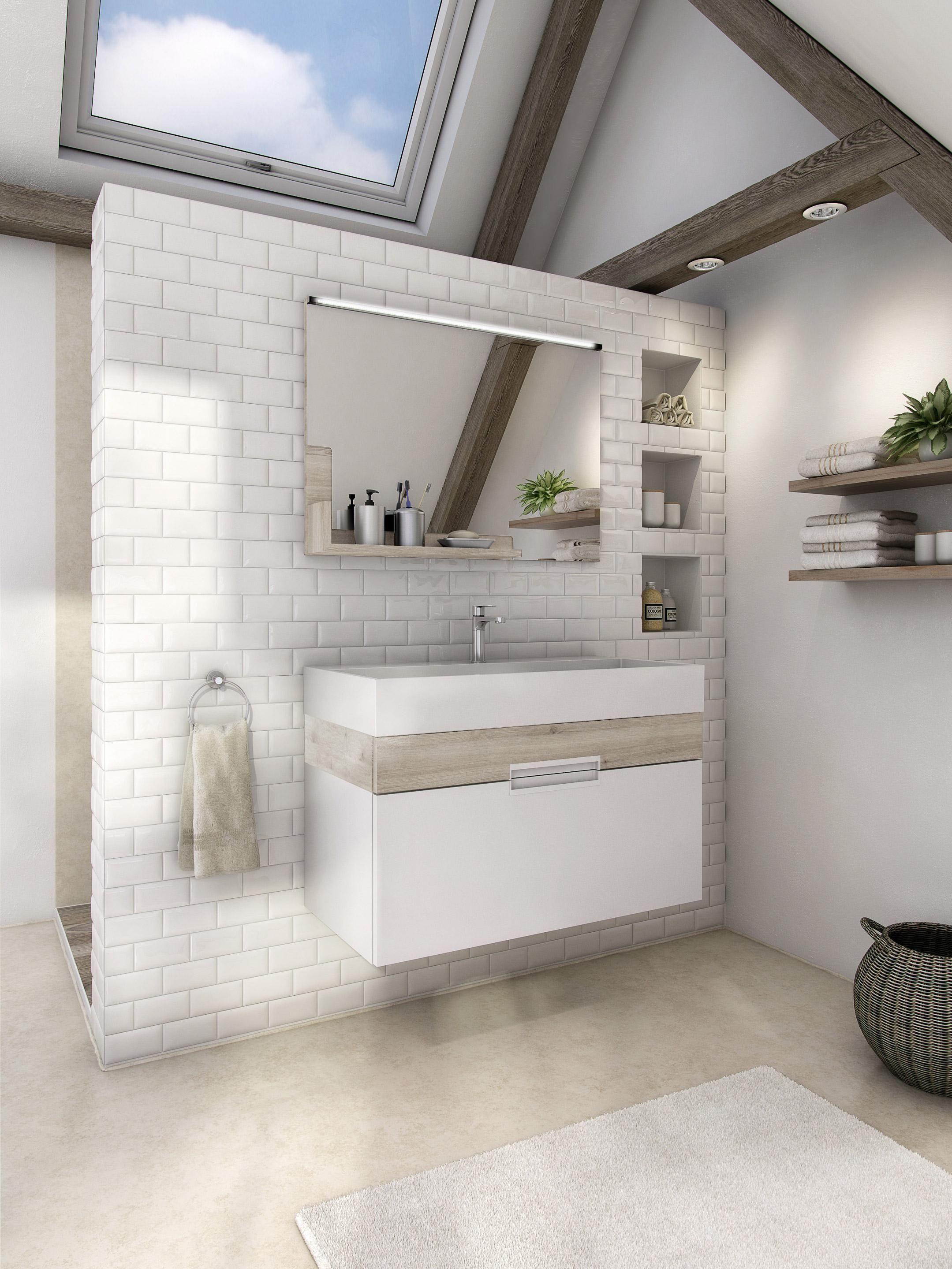 Meuble De Salle De Bains Simple Vasque Eden Products En