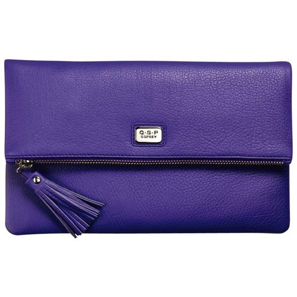O S P Osprey London Clutch Bag Violet 75 Liked On Polyvore Featuring