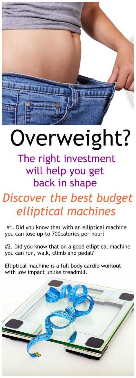 Discover the best elliptical machines on the market. Both budget and