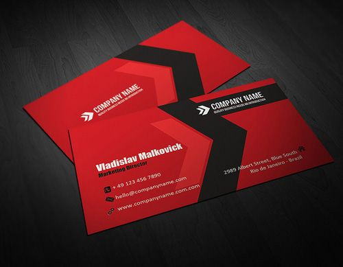 high quality modern business cards design 10 - Quality Business Cards