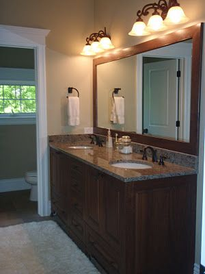 Master Bathroom Mirror Ideas Single Sink