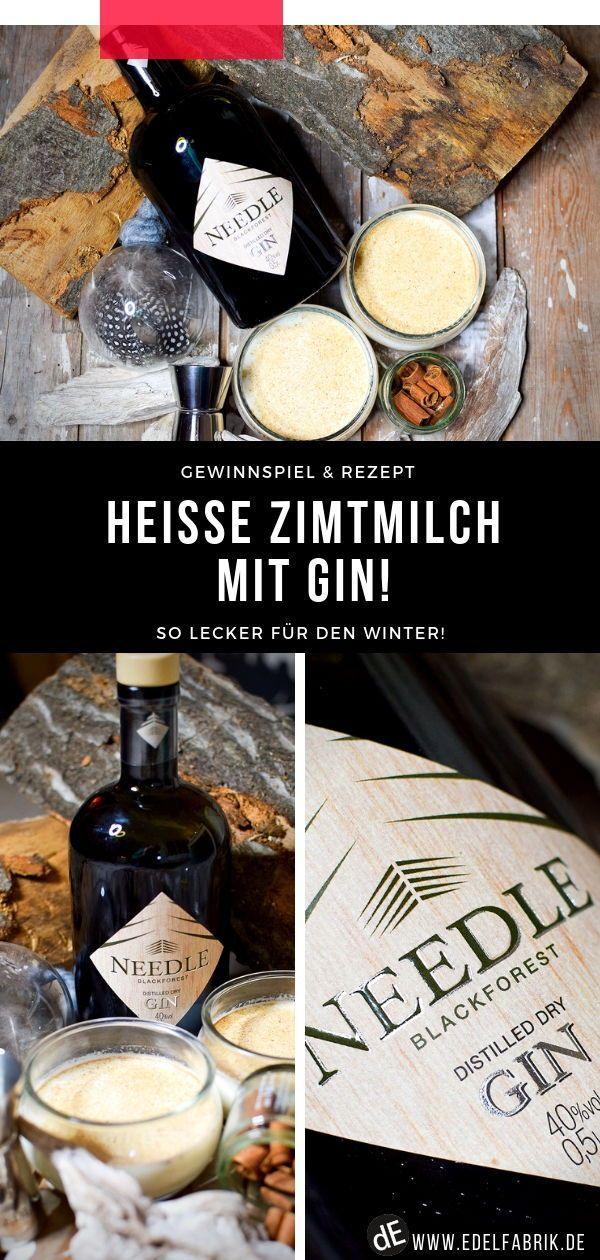 Needle Gin aus dem Schwarzwald / Hot Cinnamon Milk mit Gin !   Rezept & Gewinnspiel
