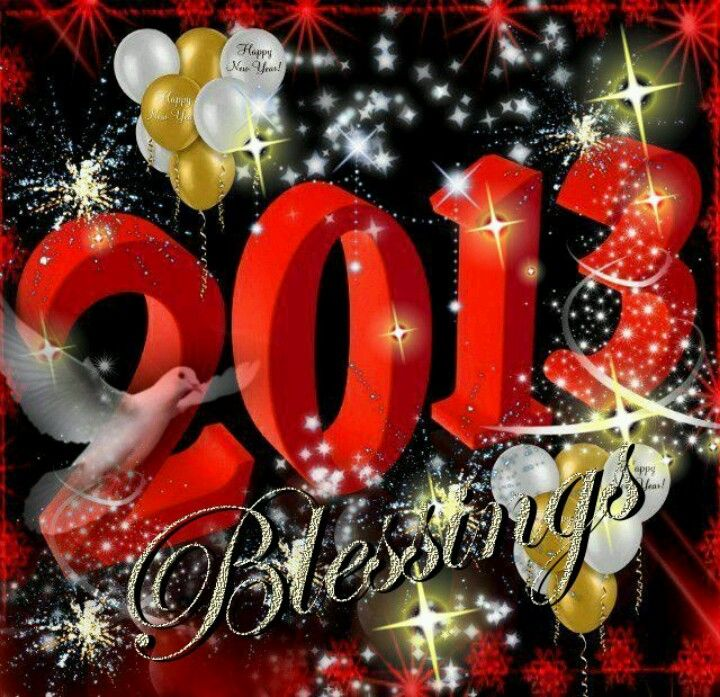 Ears haven't heard and eyes haven't seen; God's blessing and abundance in 2013!  Let 2013 be a year chocked full of God's blessing. Happy New Year!