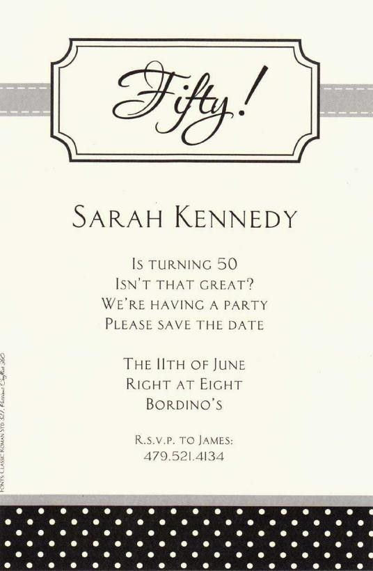 Wording for 50th birthday invitations birthday pinterest 50th wording for 50th birthday invitations filmwisefo