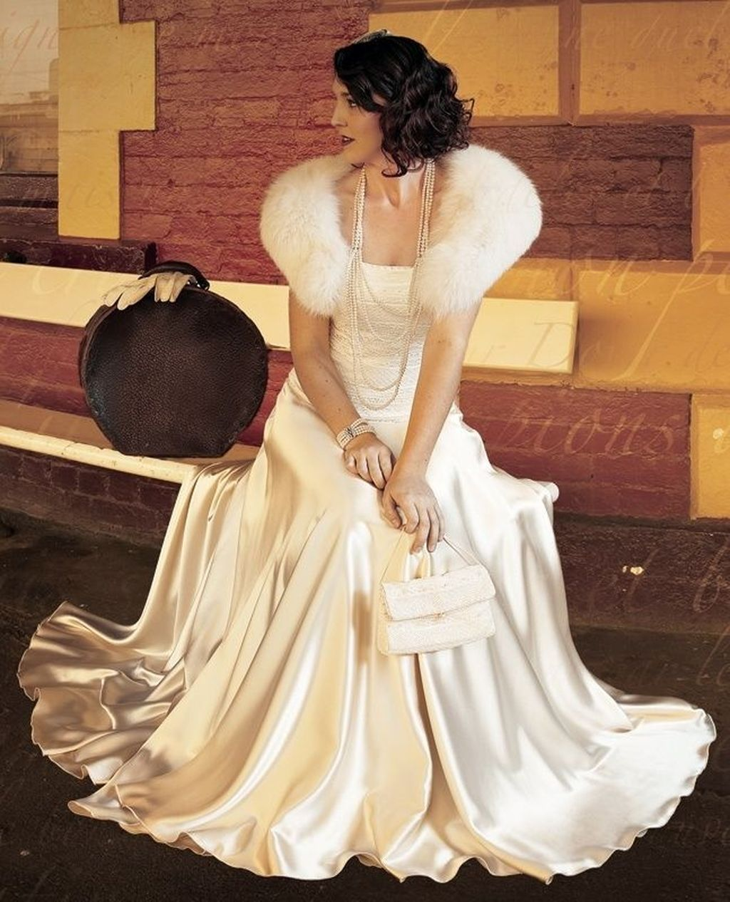 38 Fabulous Winter Wonderland Wedding Dresses Ideas Glamourous Wedding Dress Winter Wonderland Wedding Dress Hollywood Glamour Wedding