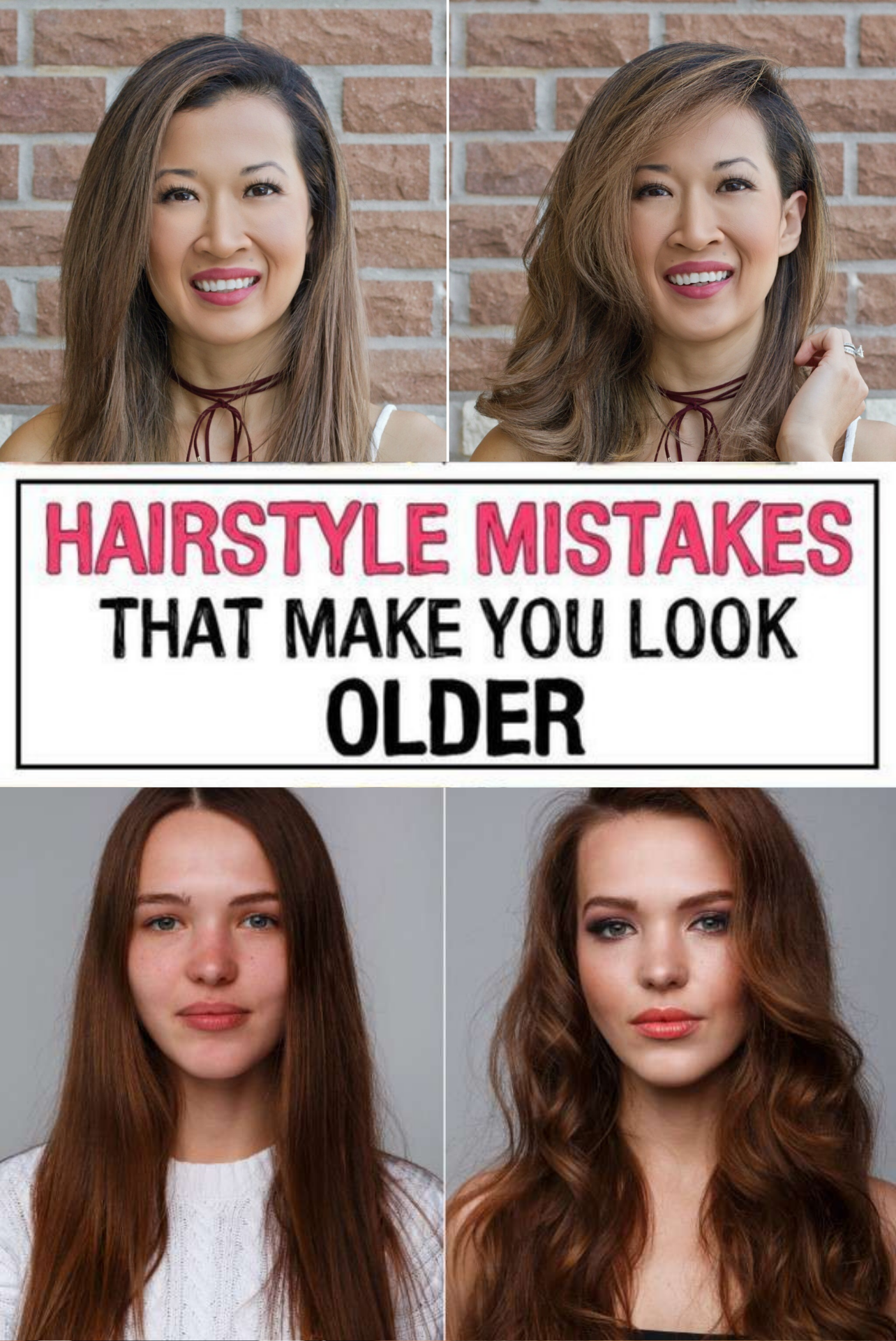 17 Hairstyle Mistakes That Are Aging You In 2020 Hairstyle Hair Mistakes Mom Hairstyles