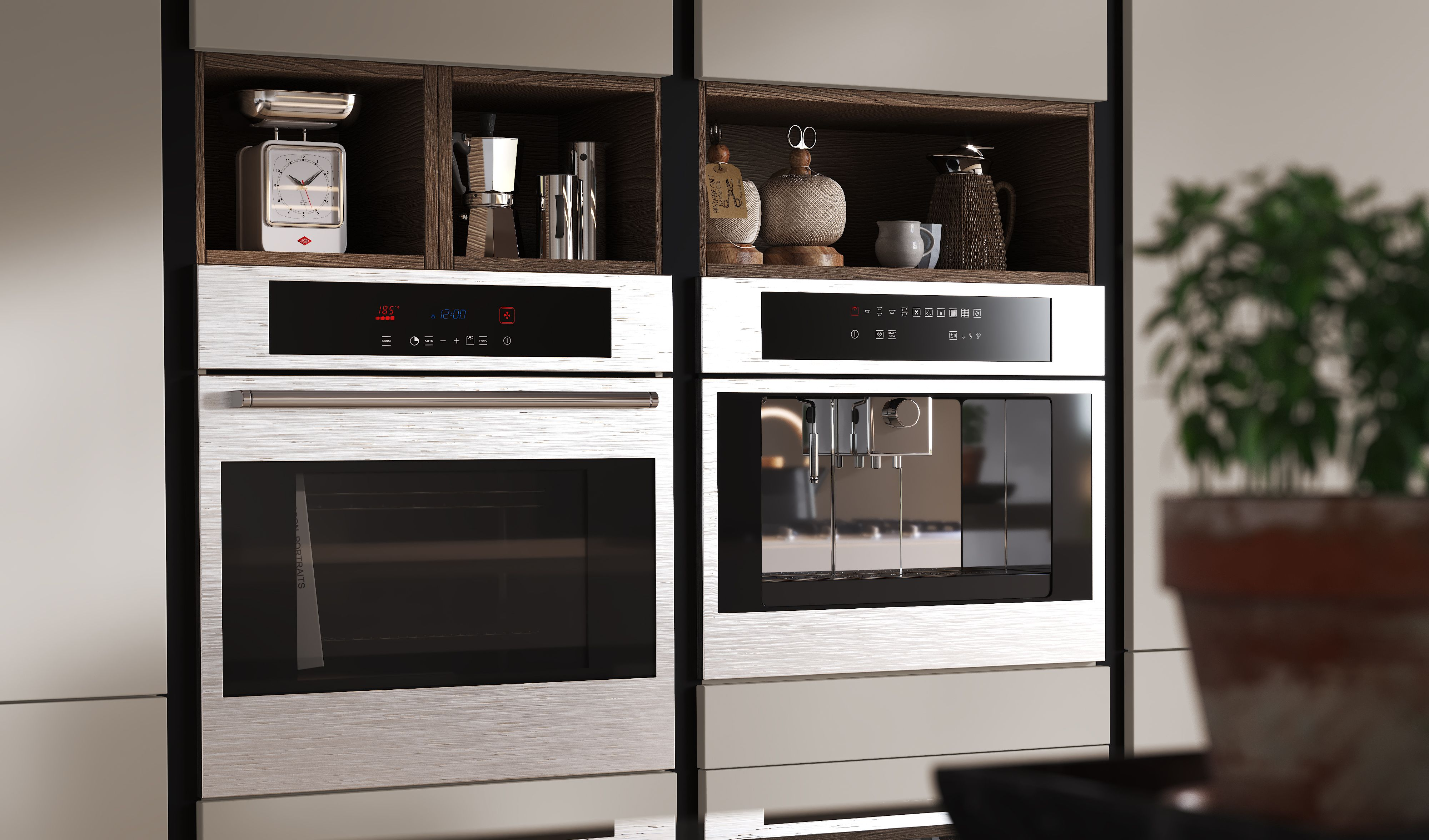 Marquise Cuisine Design Moderne Cuisines Design Four Micro Onde