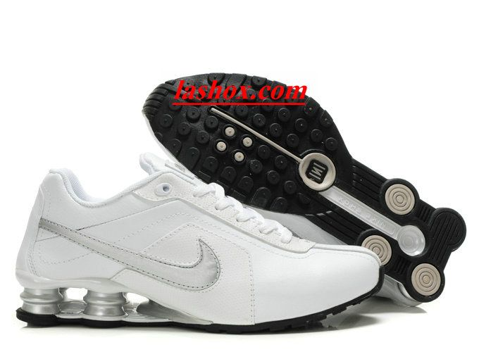 chaussures nike shox r4 homme blanc argent | Chaussures nike ...