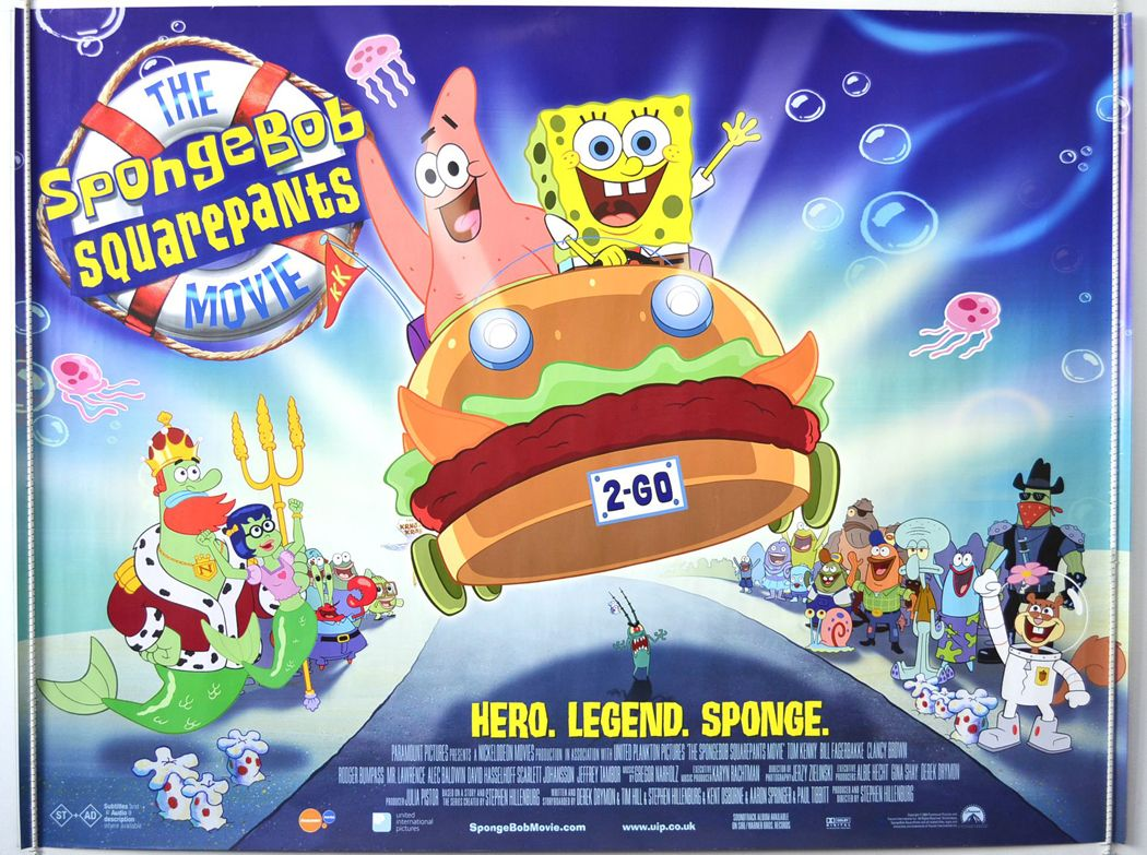 The SpongeBob Squarepants Movie 2004 Hindi Dubbed