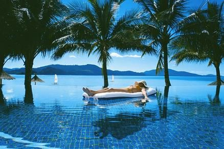 The Pool At The Hamilton Island Beach Club In The Great