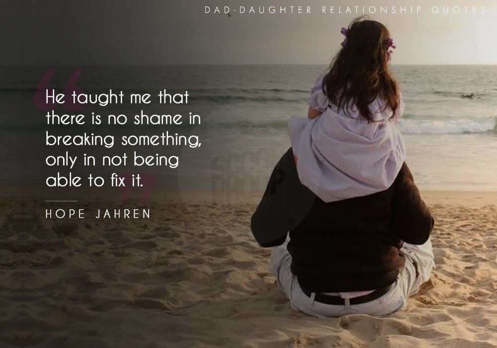 All you need is, Dad! Father daughter bond, Father