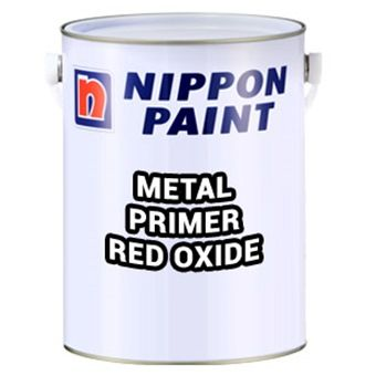 Nippon Paint Metal Primer Red Oxide 1l Nippon Paint Metal