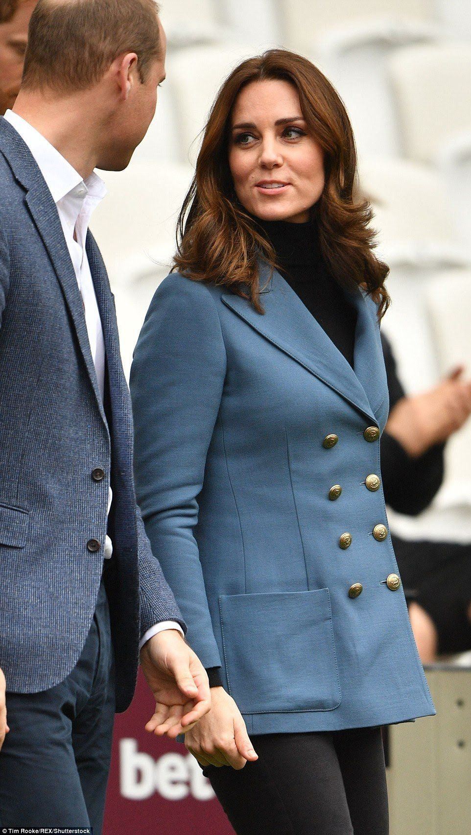 18 October 2017 - Kate, William and Harry attend a graduation at ...