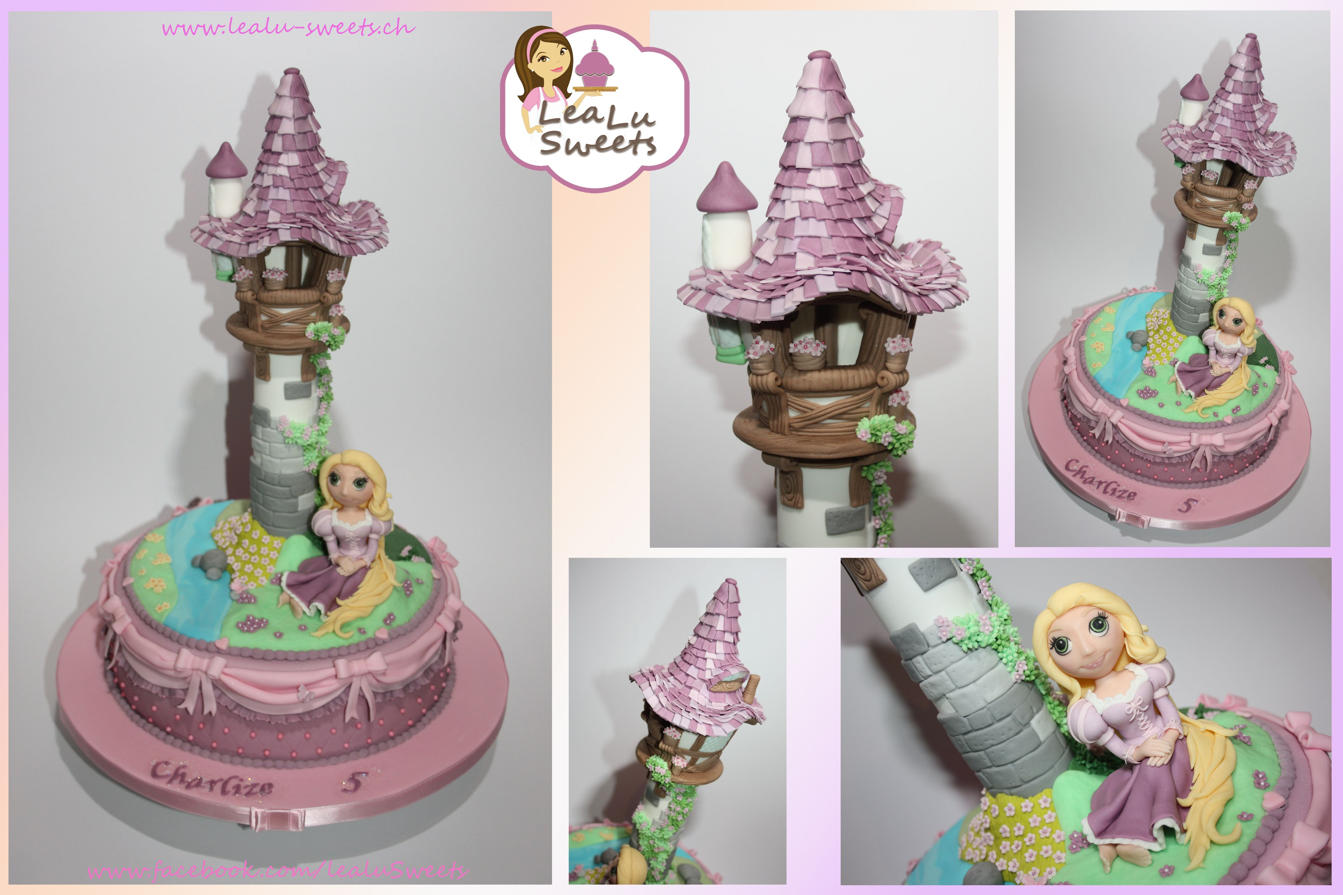 rapunzel torte tangled cake by lealu sweets lealu sweets cakes pinterest sweet cakes and. Black Bedroom Furniture Sets. Home Design Ideas