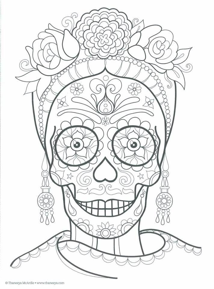 Pin De Blanca Lozano En Frida Kahlo Dibujo Dia De Muertos