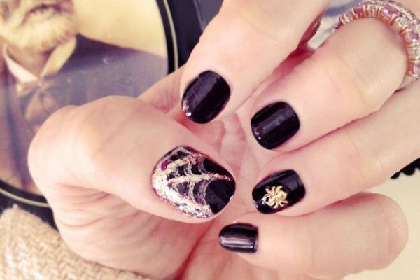 Creative Halloween Nail Designs 2015 DIY (With images ...