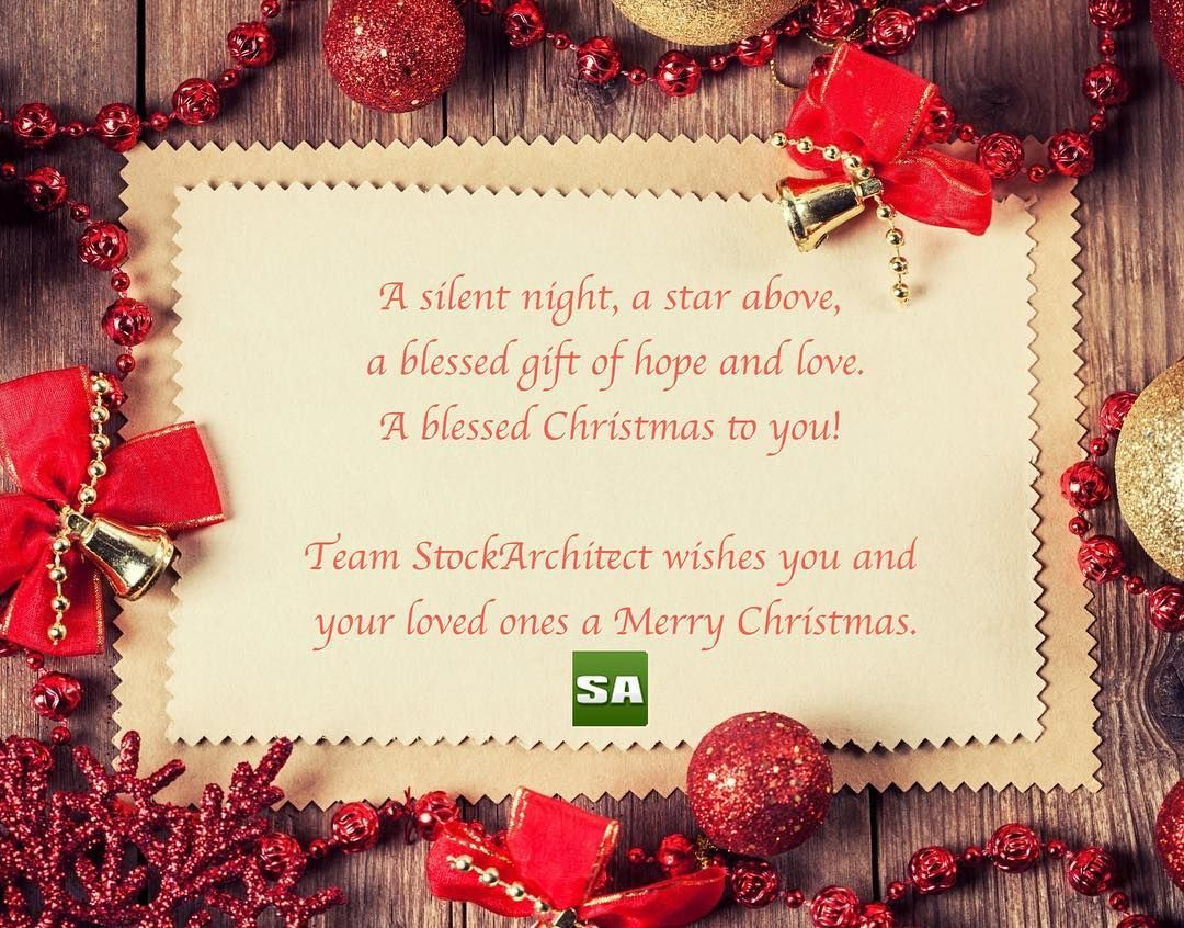 Merry #Christmas to all of you from Team StockArchitect. #investing ...
