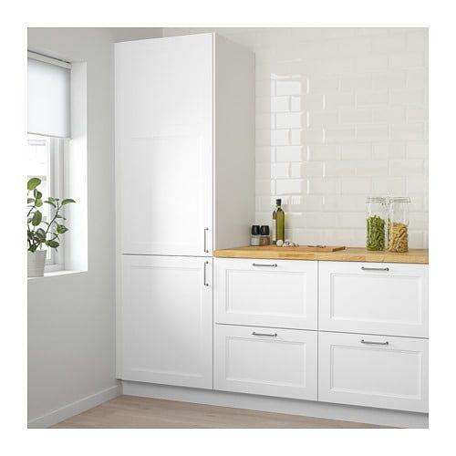 Ikea Kitchen Upper Cabinets: IKEA AXSTAD Matt White Door In 2019