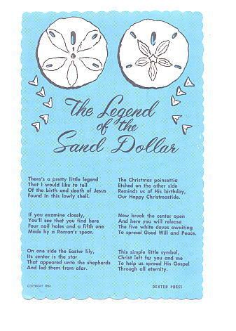 Legend Of The Sand Dollar Coloring Page   Coloring Page