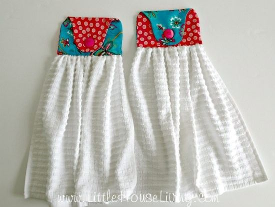 Homemade Hand Towel | Crafty Ideas | Kitchen hand towels