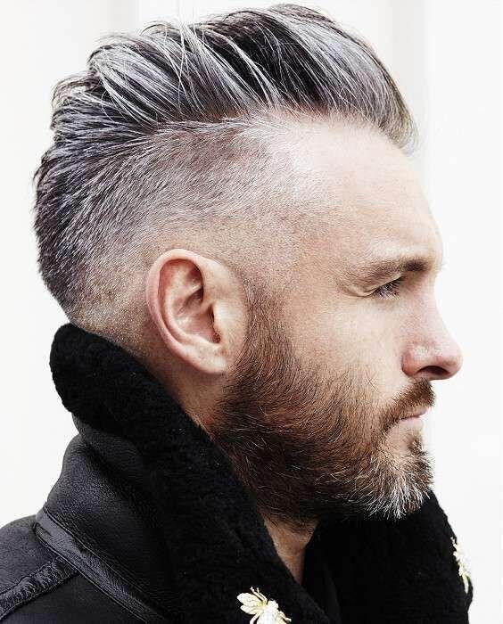 Tagli capelli uomo brizzolati e grigi - Capelli brizzolati sfumati ... 89415260f8cf