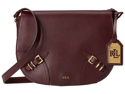 My latest must have...a structured burgundy handbag.  ) LAUREN by Ralph  Lauren Lauren Saddle Bag 33273b59cc7b1