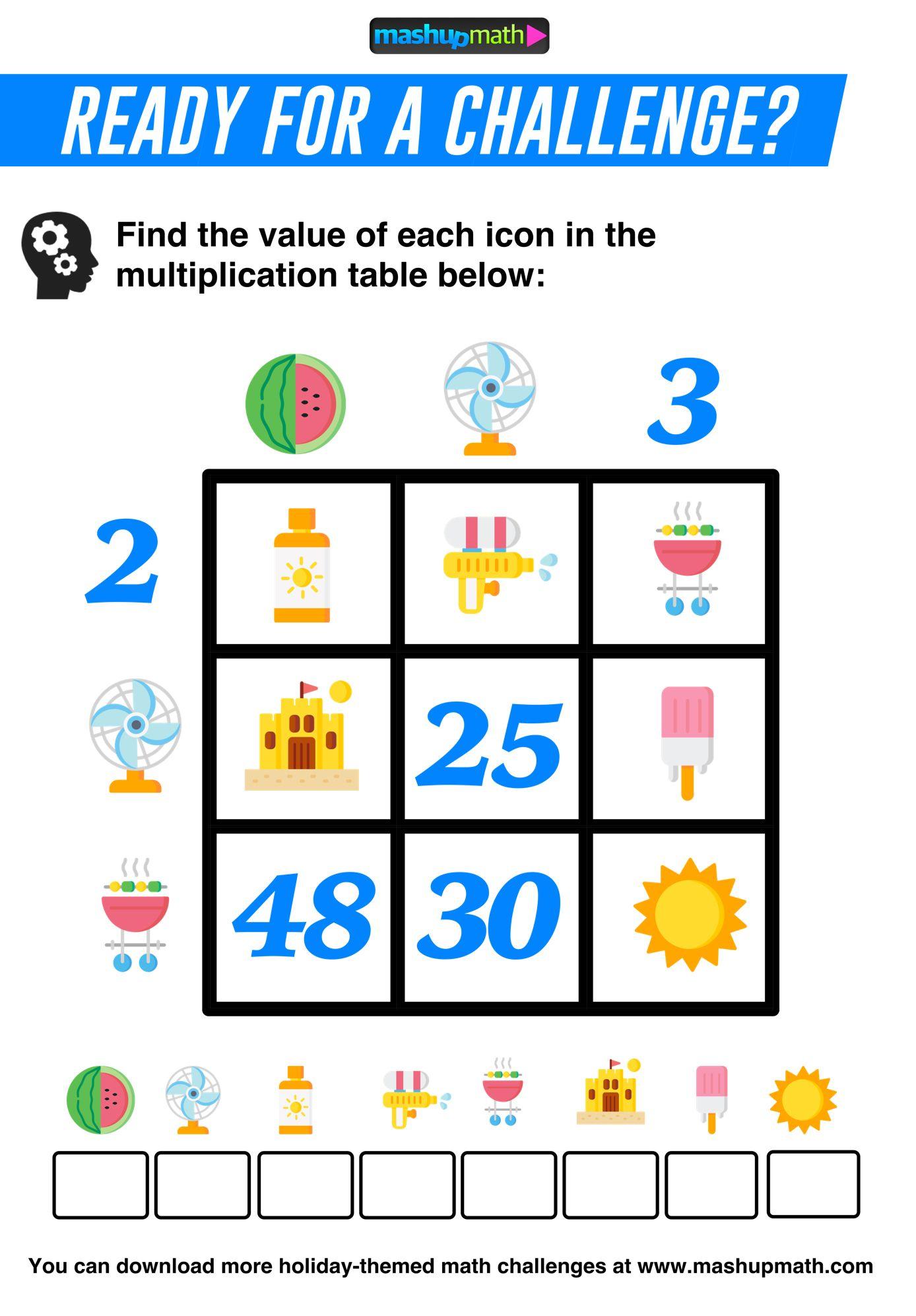 Math Challenge Math Lessons Daily 5 Math [ 1994 x 1388 Pixel ]