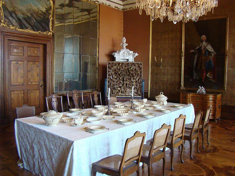 Gothaschloss Friedenstein French Interiors French Style Stunning Dining Room In German Decorating Design