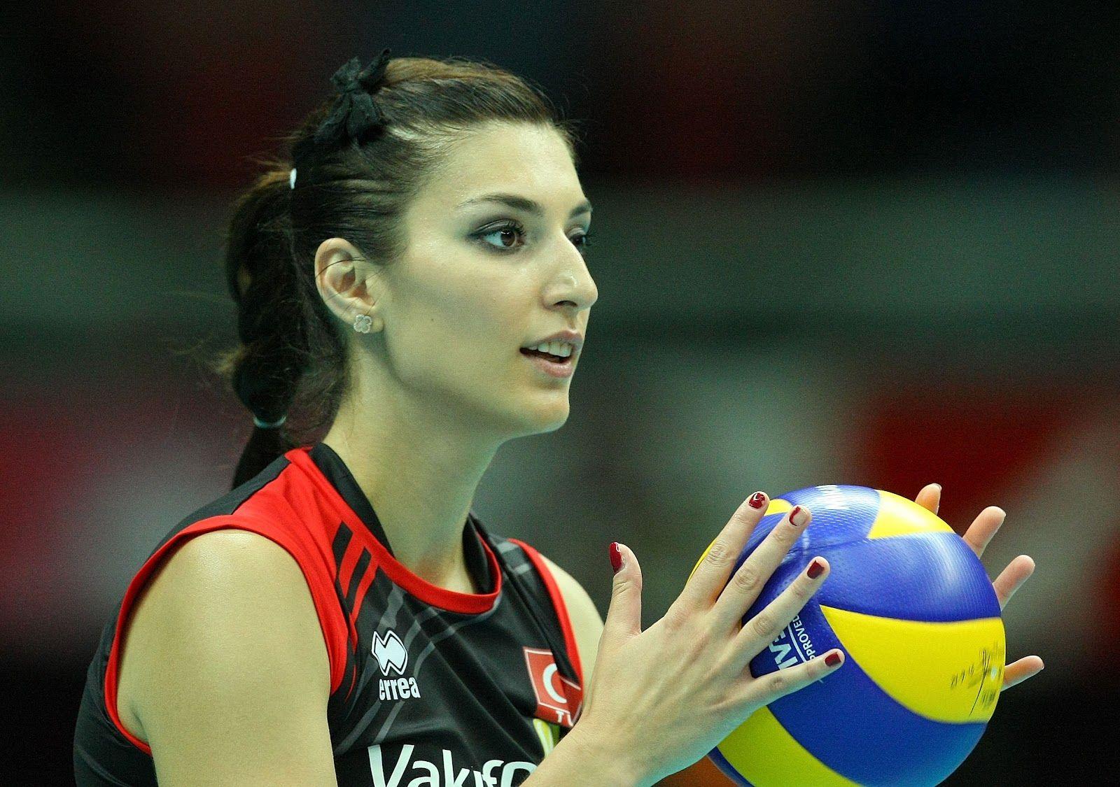 Neslihan Darnel Turkish Volleyball Player Volleyball Players Volleyball Images Warrior Woman