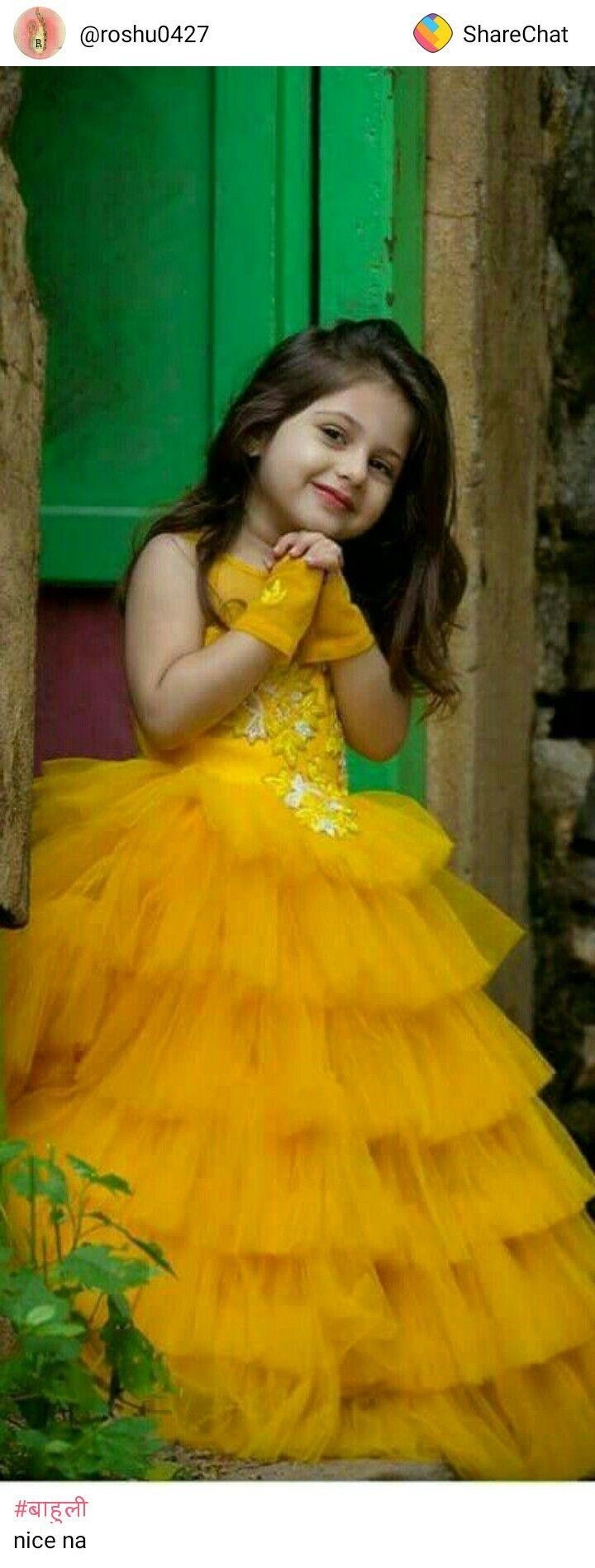 Cute In Yellow Dresses Kids Girl Kids Gown Kids Designer Dresses