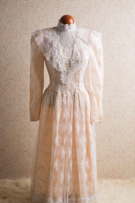1980\'s Gunne Sax Dress. Etsy | Fashion Inspiration | Pinterest ...