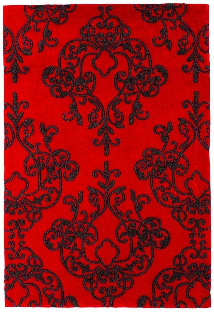 Teppich Wohnzimmer Carpet modern Design MILANO BLUME RUG