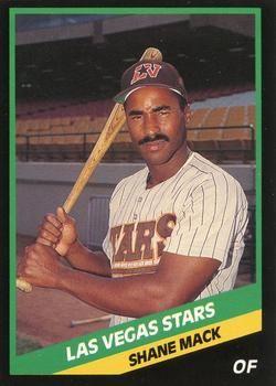 Las Vegas Stars Baseball Trading Card Database 1988