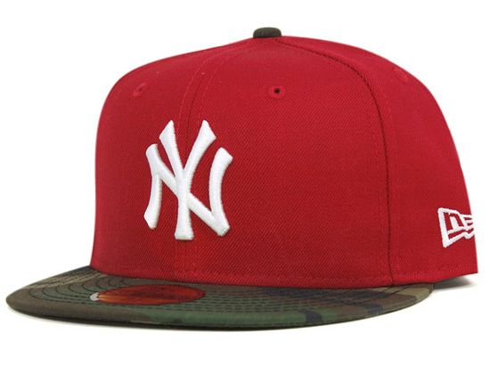 wholesale dealer fa0ce 878bf ... discount code for new york yankees red camo 59fifty fitted cap by new  era x mlb
