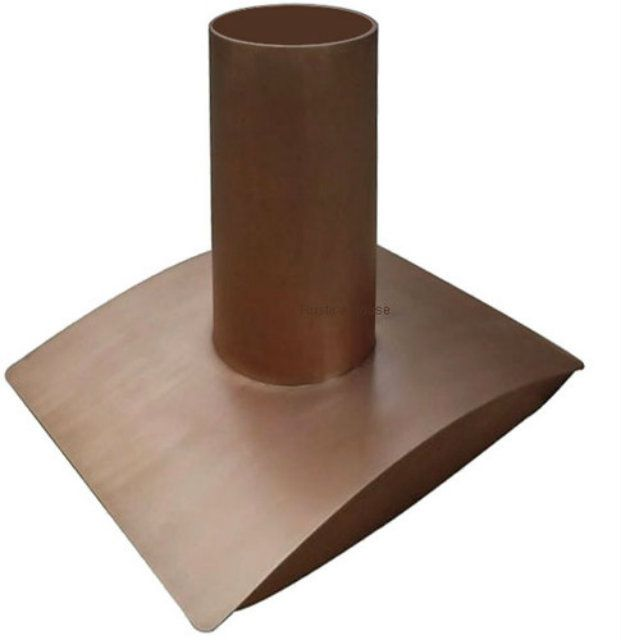 Copper Range Hood u00278018u0027 Hoods, Ranges and Contemporary - contemporary kitchen hoods