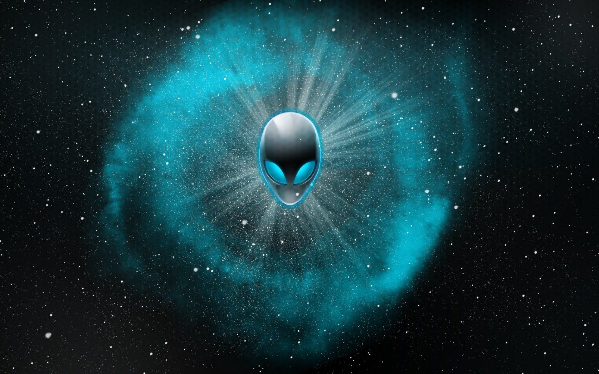 Alienware Wallpaper Blue Wallpaper » WallDevil Best free