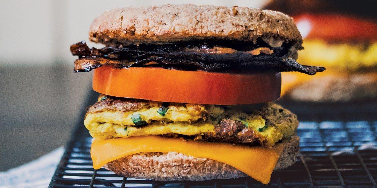 The Best Vegan Breakfast Sandwich Recipe Best Vegan Breakfast Breakfast Recipes Food
