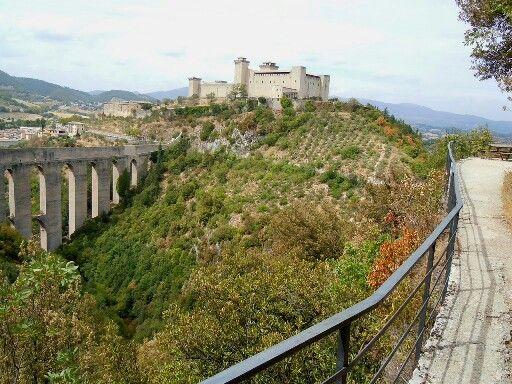 Italy, Umbria, Spoleto