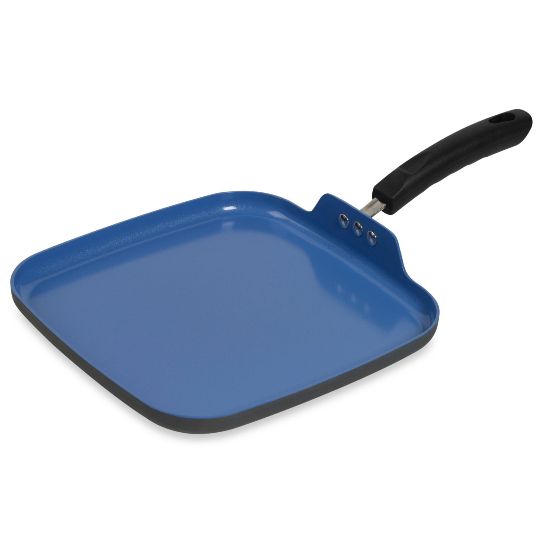 Denmark Tools For Cooks Hard Anodized 10 5 Inch Nonstick Square Griddle Bedbathandbeyond Com Anodized Griddles 10 Things