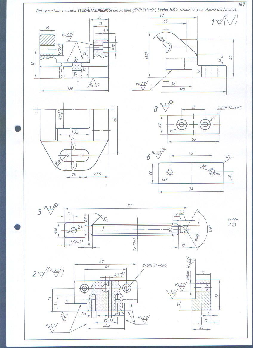 Pin By Fgnkrsc On My Drawings Mechanical Design Technical Drawing Engineering Design
