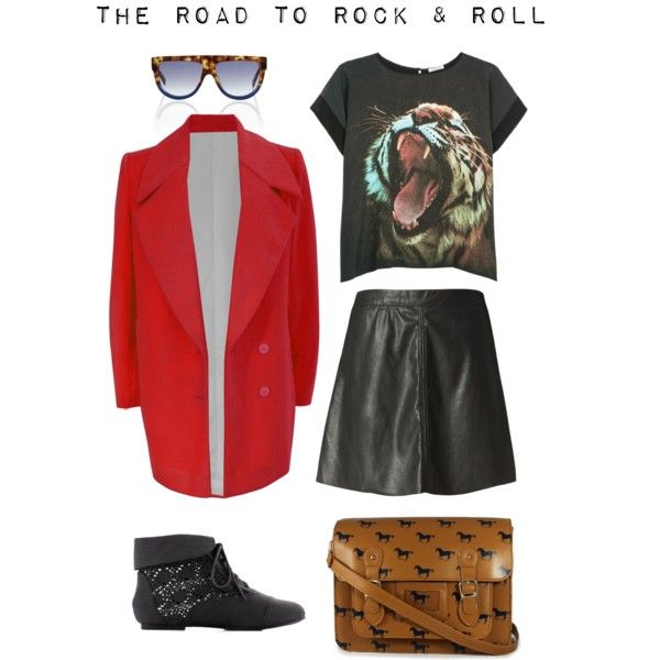 """The Road To Rock & Roll"" by thestreetsiknow on Polyvore"