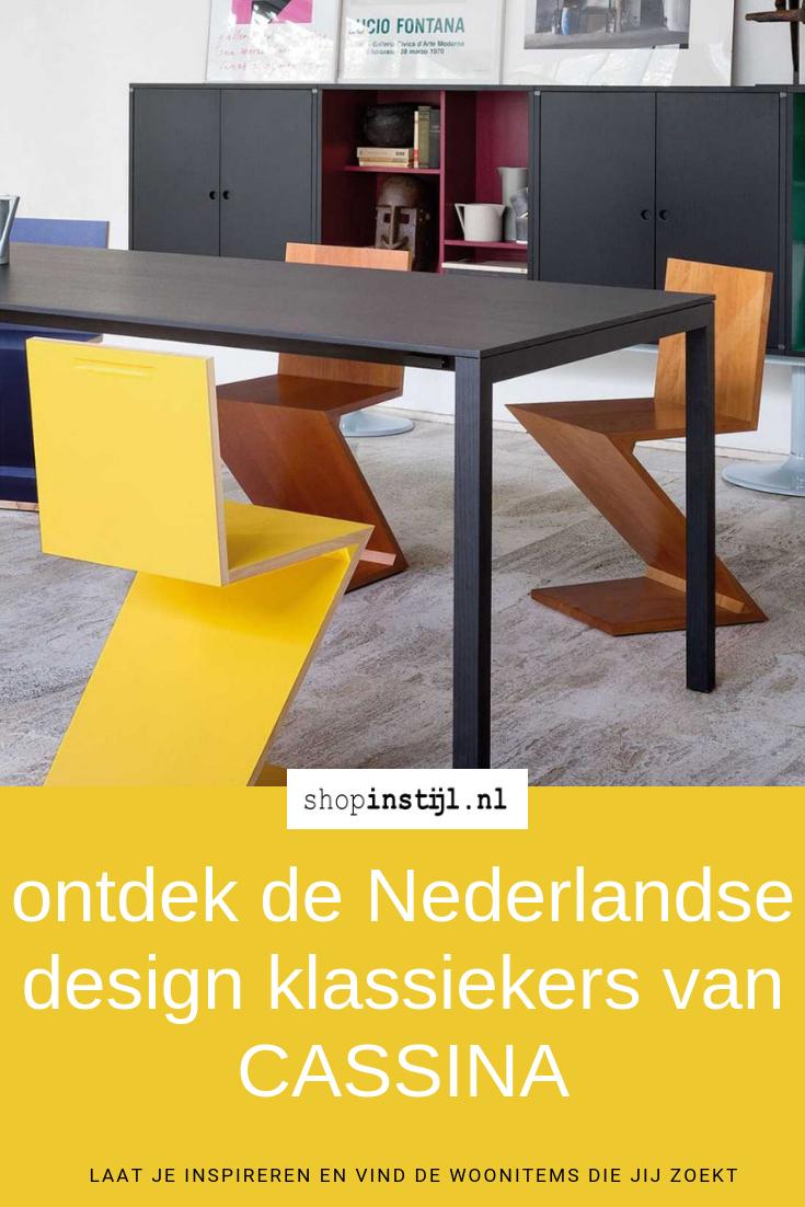 Beroemde Design Stoelen.Ontdek De Drie Nederlandse Design Klassiekers Van Cassina Design