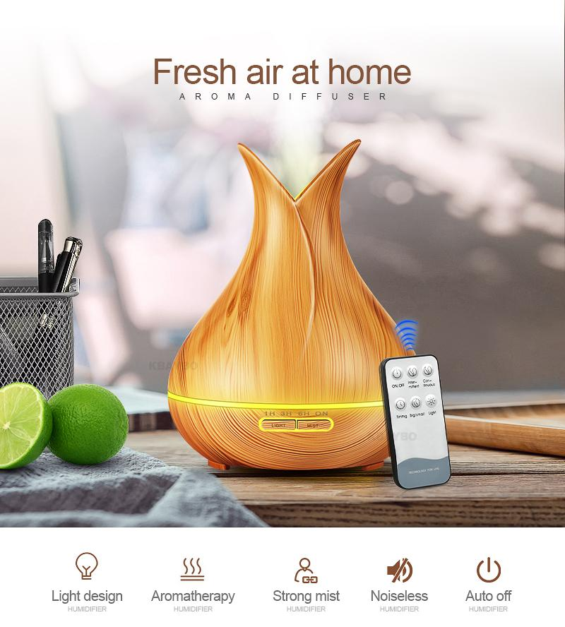 400ml Air Humidifier Essential Oil Diffuser Aroma Lamp Aroma