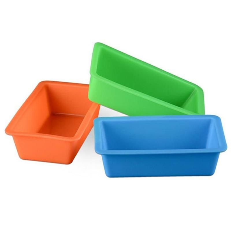 Silicone Cake Pan For Nonstick Square Baking Moulds Brownie Pan