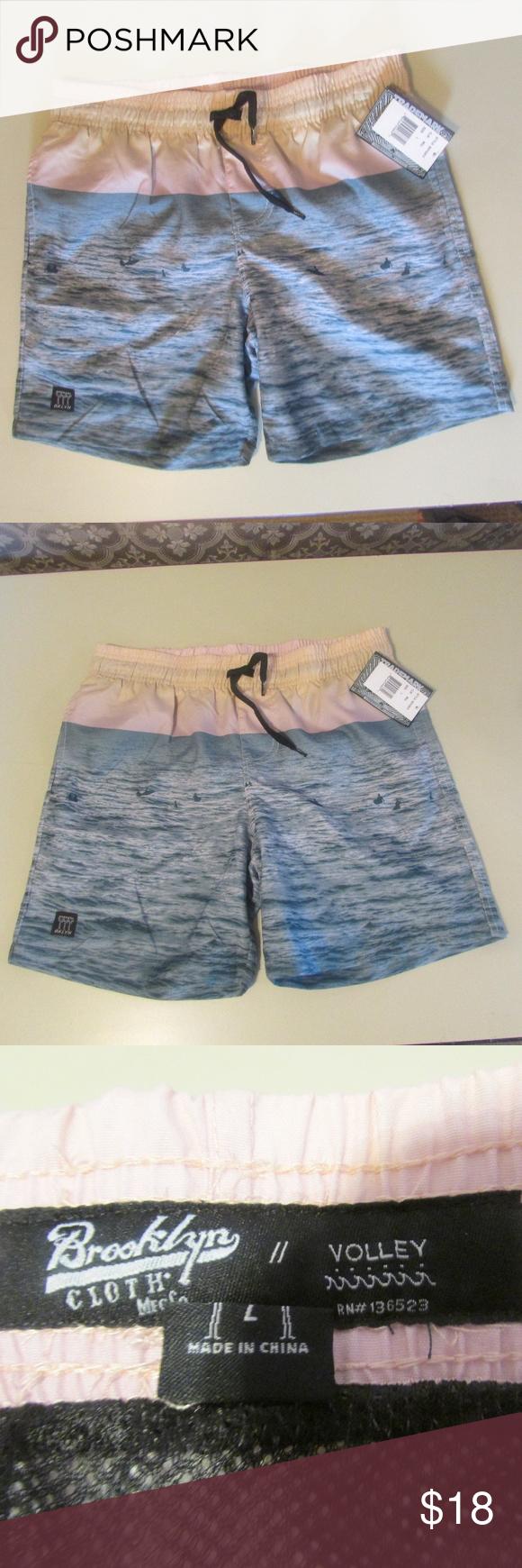 82d5f5cb NEW Boy's Swim Trunks/Shorts Ocean Water Blue NEW Boy's Swim Trunks/Shorts  from