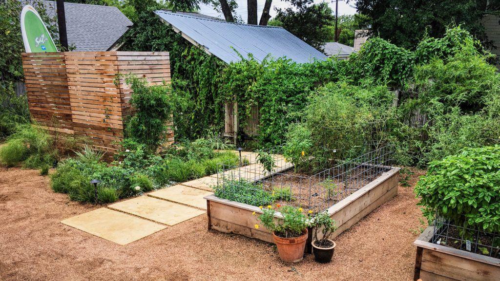 foresightlanddesigncom 2016 cottage garden with a contemporary upgrade limestone pavers cedar vegetable garden