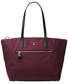 9dedd434dfed MICHAEL Michael Kors Kelsey Large Top-Zip Tote  Macys  Fashion  Handbags